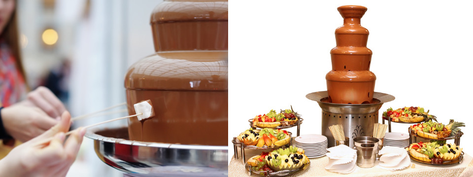Chocolate Fountain for Hire London