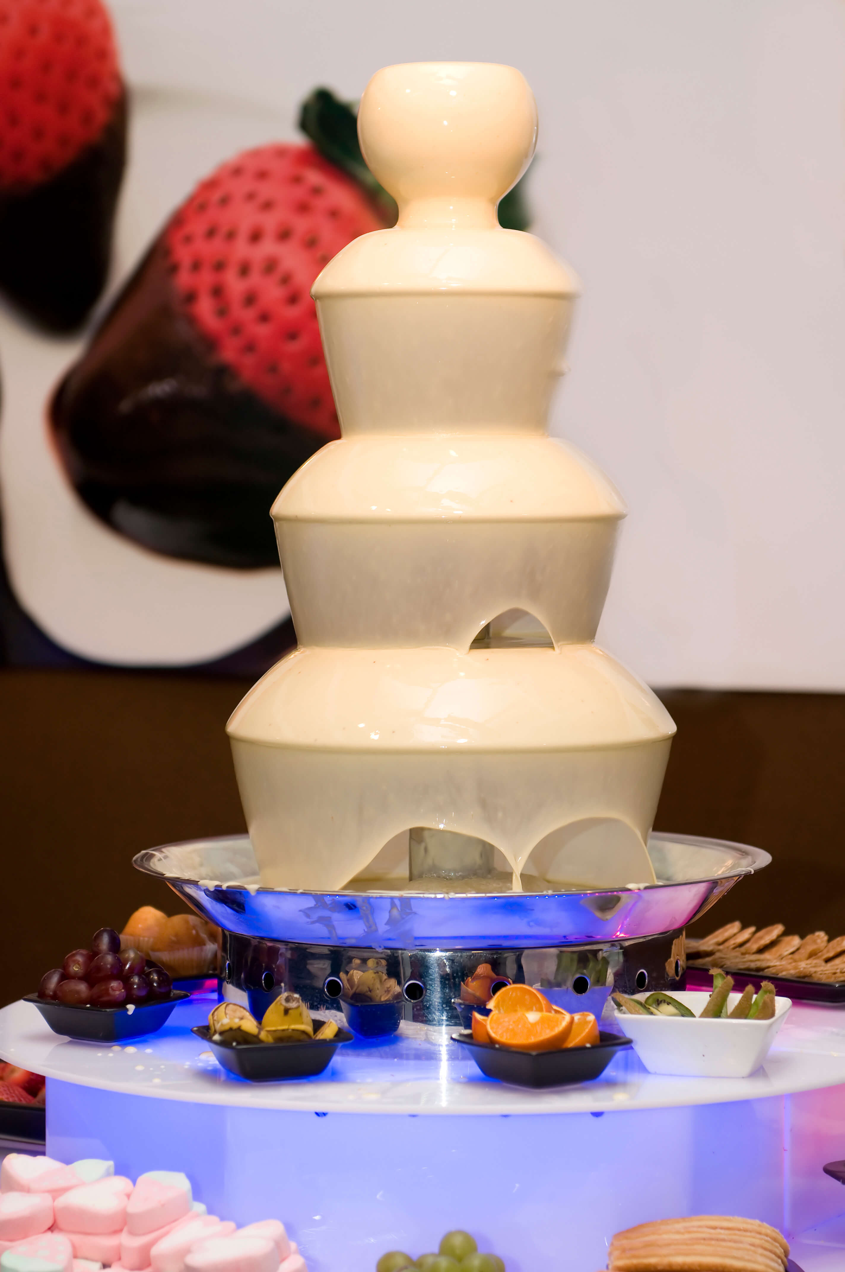 Chocolate Fountain Rental London - Pure Belgian Chocolate and ...